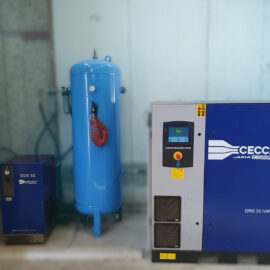Esecuzione impianti completi aria compressa